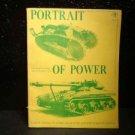 "ANTIQUE/VINTAGE BOOK: ""PORTRAIT OF POWER"" TANK WARFARE FROM 1971"