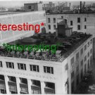 *NEW* BUICK SALES BUILDING-CARS ON ROOF IN 1925=(8.5X11) OLD VINTAGE CAR PHOTO