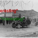 *NEW* SANTA CLAUSE AUTOMOBILE DECORATED CHRISTMAS=(8.5X11) OLD VINTAGE CAR PHOTO