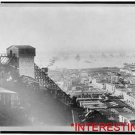 New [8x10] Antique RP Ship Photo: Valparaiso, Chile, Aerial View, Cable Railway