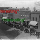*NEW* CROSSWELL, Michigan PHOTOGRAPH IN 1909=(8.5X11) ANTIQUE OLD CAR PHOTO