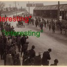 *NEW* AUTO RACE WITH SPECTATORS IN 1900 D.C.=(8.5X11) ANTIQUE OLD CAR PHOTO