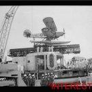 New [8x10] Antique RP Ship Photo: Arrival of the Negus to Haifa, Sailors, Plane=