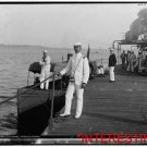"""New [8x10] Antique RP Ship Photo: Officer on the deck, U.S.S. """"Nahant"""" Boat"""