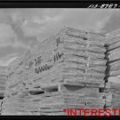New [8x10] Antique RP Ship Photo: Anaconda Copper Mining -Slabs of Zinc Shipping