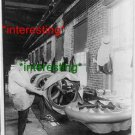 """MAKING """"HAND-MADE TIRES"""" FIRST PLY IN 1906=(8X10) ANTIQUE OLD CAR RP PHOTO"""