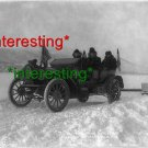 FIRST AUTO GOES FROM DAWSON TO WHITEHORSE 1906=(8X10) ANTIQUE OLD CAR RP PHOTO