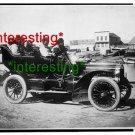 ESKIMOS IN AUTOMOBILE IN 1905=(8X10) ANTIQUE OLD CAR RP PHOTO