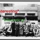 WASHINGTON BATTERY COMPANY EMPLOYEES 1919 D.C.'=(8X10) ANTIQUE OLD CAR RP PHOTO