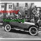 CLASSIC CAR ELGIN SIX--ROAD CONDITION REPORT 17'=(8X10) ANTIQUE OLD CAR RP PHOTO