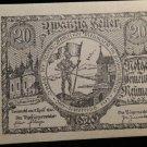 World/ Foreign Bill Banknote CURRENCY: 1920 Notgeld Neumarkt Austria Emergency