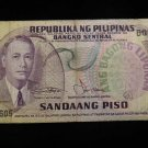 World/ Foreign Bill Banknote CURRENCY: PHILIPPINES SANDAANG PISO 100 ROXAS