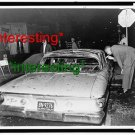 DETECTIVE EXAMS HARLEM RIOT CAR -HERKIMER ST.=(8X10) ANTIQUE OLD CAR RP PHOTO