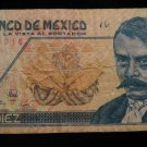 World/ Foreign Bill Banknote CURRENCY: MEXICO, 10 PESOS, 1992, BENTO JUAREZ
