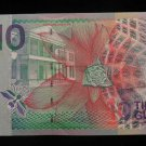 World/ Foreign Bill Banknote CURRENCY: SURINAME, TIEN GULDEN BANK DE SURINAME
