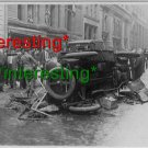 ANARCHIST BOMBINGS-NEW YORK CITY-1914 WALLSTREET=(8X10) ANTIQUE OLD CAR RP PHOTO