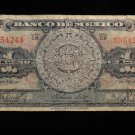 """World/ Foreign Bill Banknote CURRENCY: MEXICO, 1950, """"CR SERIES"""" ABN COMPANY"""