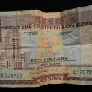 World/ Foreign Bill Banknote Paper Currency: BRITISH HONG KONG CHARTERED BANK