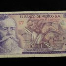 World/ Foreign Bill Banknote Paper Currency: MEXICO 100 CIEN 1978 PORTADOR