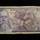 World/ Foreign Bill Banknote Paper Currency: MEXICO 1979- 100 CIEN PESOS PAGARA