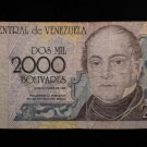 World/ Foreign Bill Banknote Paper Currency: VENEZUELA 1998, 2000 BOLIVARES