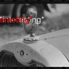 RADIATOR CAP ORNAMENT LAUREL, MISSISSIPPI IN 1938=(8X10) ANTIQUE CAR RP PHOTO