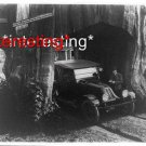 PCH PACIFIC DRIVING THROUGH REDWOOD TREE IN 1920 =(8X10) ANTIQUE CAR RP PHOTO
