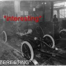STUDIO QUALITY ANTIQUE AUTOMOBILE PHOTO:(8x10):MODEL T FORD ASSEMBLY LINE 1900