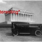 KING CAR NEAR LINCOLN MEMORIAL IN D.C 1920=8.5X11 ANTIQUE CAR REPRINT PHOTOGRAPH