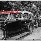 1938 KING/QUEEN GREAT BRITAIN-E. ROOSEVELT=8.5X11 ANTIQUE CAR REPRINT PHOTOGRAPH