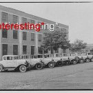 GRIFFITH CONSUMERS COMPANY CARS IN LINE 1932 :ANTIQUE RP AUTOMOBILE PHOTO (8x10)