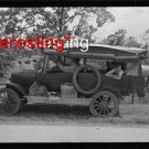 MIGRANT WORKER CAR-FORT GIBSON, OK IN 1939 :ANTIQUE RP AUTOMOBILE PHOTO (8x10)