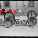 DEMING, NEW MEXICO IN 1939 CAR TIRES/WHEELS :ANTIQUE AUTOMOBILE PHOTO (8x10)