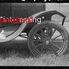 FORT GIBSON, OKLAHOMA..MIGRANT CAR W/ SALT BAG :ANTIQUE AUTOMOBILE PHOTO (8x10)