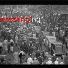 OLD CARS CROWDS-INDIANAPOLIS INDIANA IN 1938 :ANTIQUE AUTOMOBILE PHOTO (8x10)