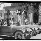 SECRETARY OF WAR GENERAL MARSH IN 1920 OLD CARS :ANTIQUE AUTOMOBILE PHOTO (8x10)