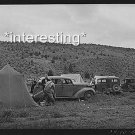 CARS OF SHEEP SHEARERS MALHEUR COUNTY, OREGON  :ANTIQUE AUTOMOBILE PHOTO (8x10)
