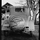 I.C.S. DUBUQUE, IOWA 1940 WW2: STUDIO QUALITY ANTIQUE AUTOMOBILE PHOTO(8x10)