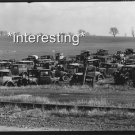 CAR JUNKYARD DUMP EASTON, PA 1935: STUDIO QUALITY ANTIQUE AUTOMOBILE PHOTO(8x10)