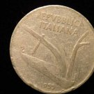 Vintage ANTIQUE OLD COIN: 1955 10 LIRE LIRA LIRAS COIN, ITALY ITALIAN REPUBLIC