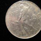 Vintage ANTIQUE OLD COIN: 1970 50 LIRE LIRA LIRAS COIN ITALY ITALIAN ROMAN