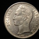 ANTIQUE Vintage Coin: BEAUTIFUL REPUBLIC VENEZUELA UN BOLIVAR 1967 COIN