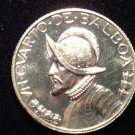 ANTIQUE Vintage Coin: BEAUTIFUL CURATO DE BALBOA 1/4 BALBOA SILVER 1972
