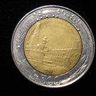 ANTIQUE Vintage Coin: 1983 500 LIRE L COIN, ITALY, ITALIAN EUROPE 2 TONED