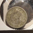 Antique/Vintage Coin: Silver Portugal Portuguese Coin:  1900 Carlos 100 Reis