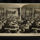 ORIGINAL STEREOVIEW ANTIQUE PHOTO ART: SEARS AND ROEBUCK: MAIL OPENING ROOM