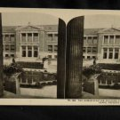 ORIGINAL STEREOVIEW ANTIQUE PHOTO ART: SEARS AND ROEBUCK: PERGOLA BUILDING