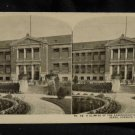 ORIGINAL STEREOVIEW ANTIQUE PHOTO ART: SEARS AND ROEBUCK:ADMINISTRATION BUILDING