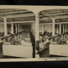 ORIGINAL STEREOVIEW ANTIQUE PHOTO ART: SEARS AND ROEBUCK: SHIPPING DEPARTMENT