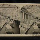 ORIGINAL STEREOVIEW ANTIQUE PHOTO ART: SEARS AND ROEBUCK: PACKING FOR SHIPPING